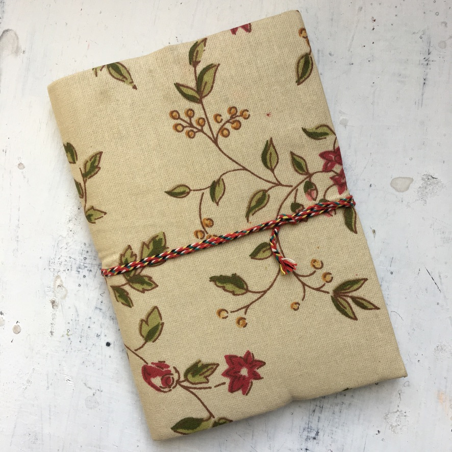 Beautiful handmade journal. The paper is watercolor paper