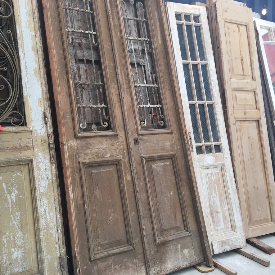 Love these old doors from the Preservation Company