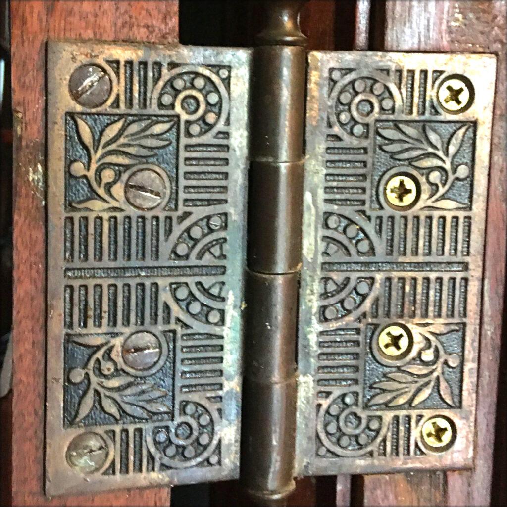 Door hinges were not taken for granted.