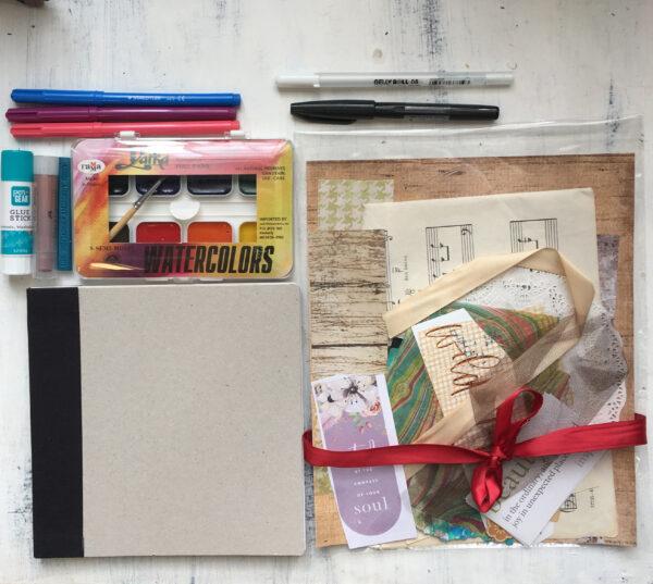 Deluxe Art Journal Starter Kit