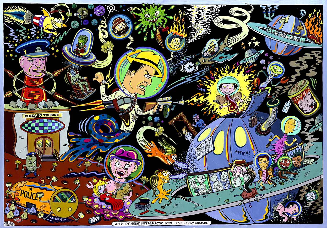 The Great Intergalactic Penal Space Colony Bustout