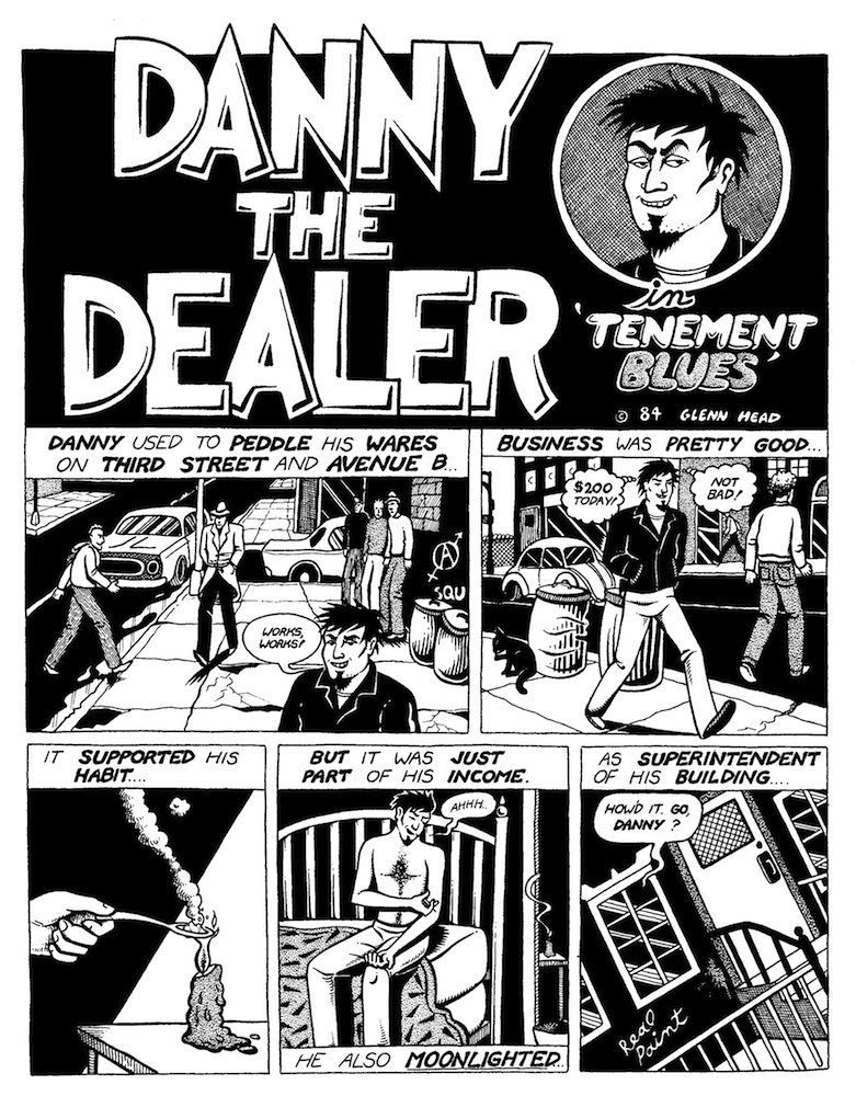 Danny the Dealer by Glenn Head