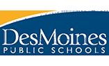 GoWest Des Moines Public Schools Logo