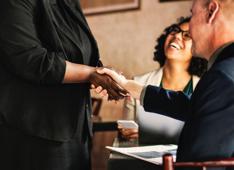 GoWest Business Handshake