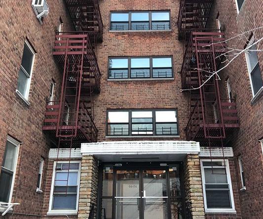 GoWest Brick Apartment Building