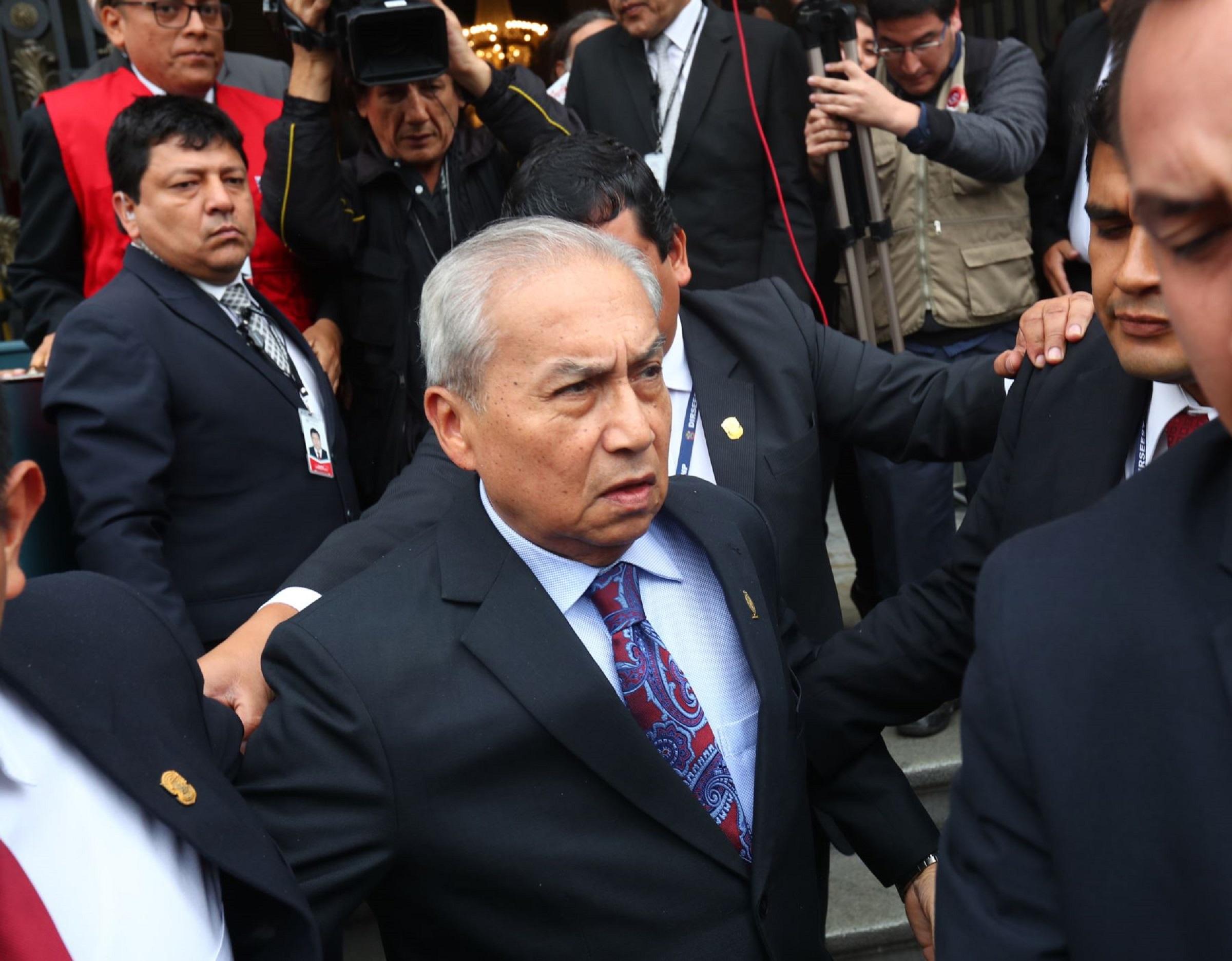 Pedro Chávarry es blindado una vez más por el fujimorismo