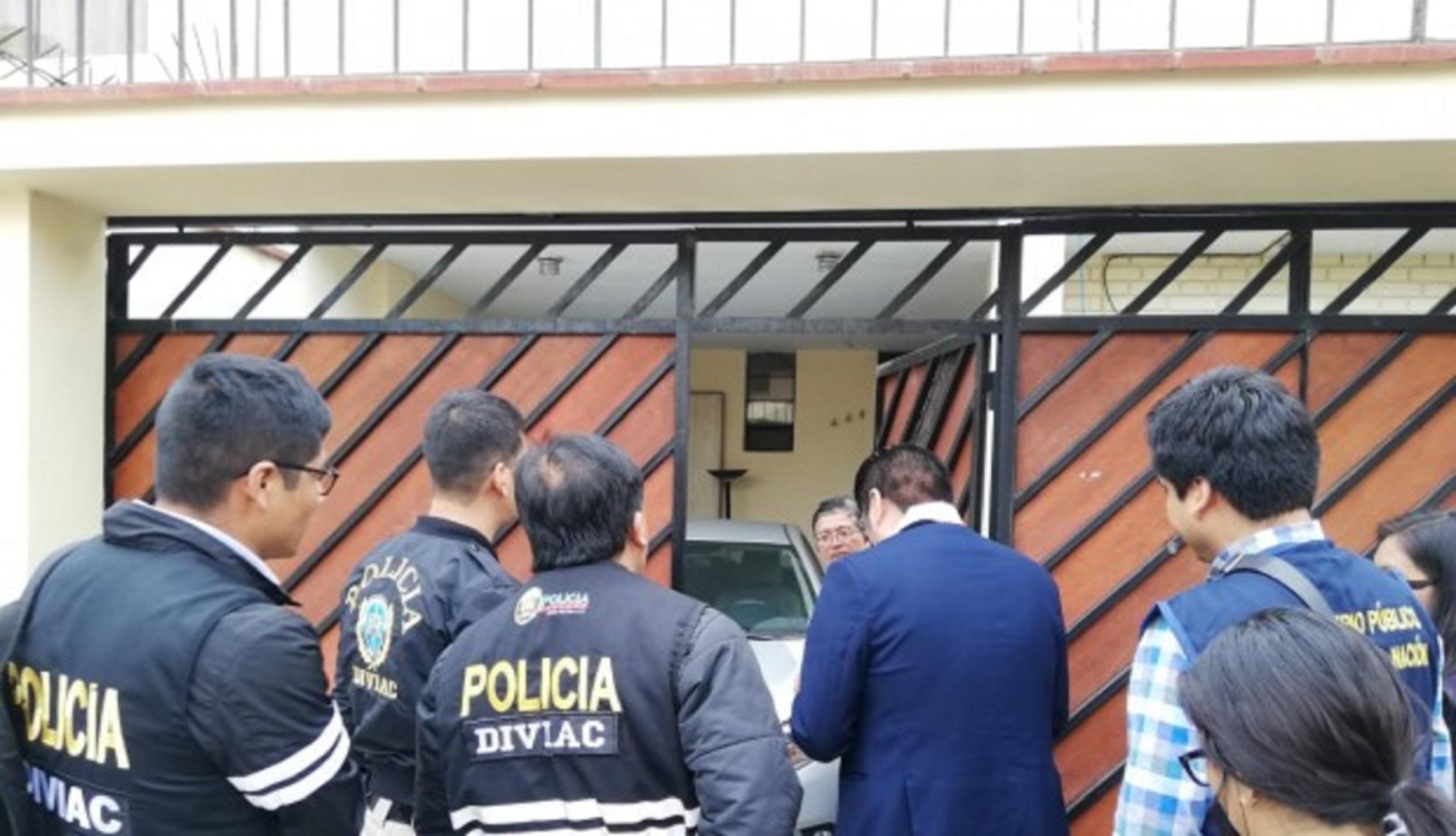 Fiscalía allana inmuebles de asesores de Municipalidad de Lima