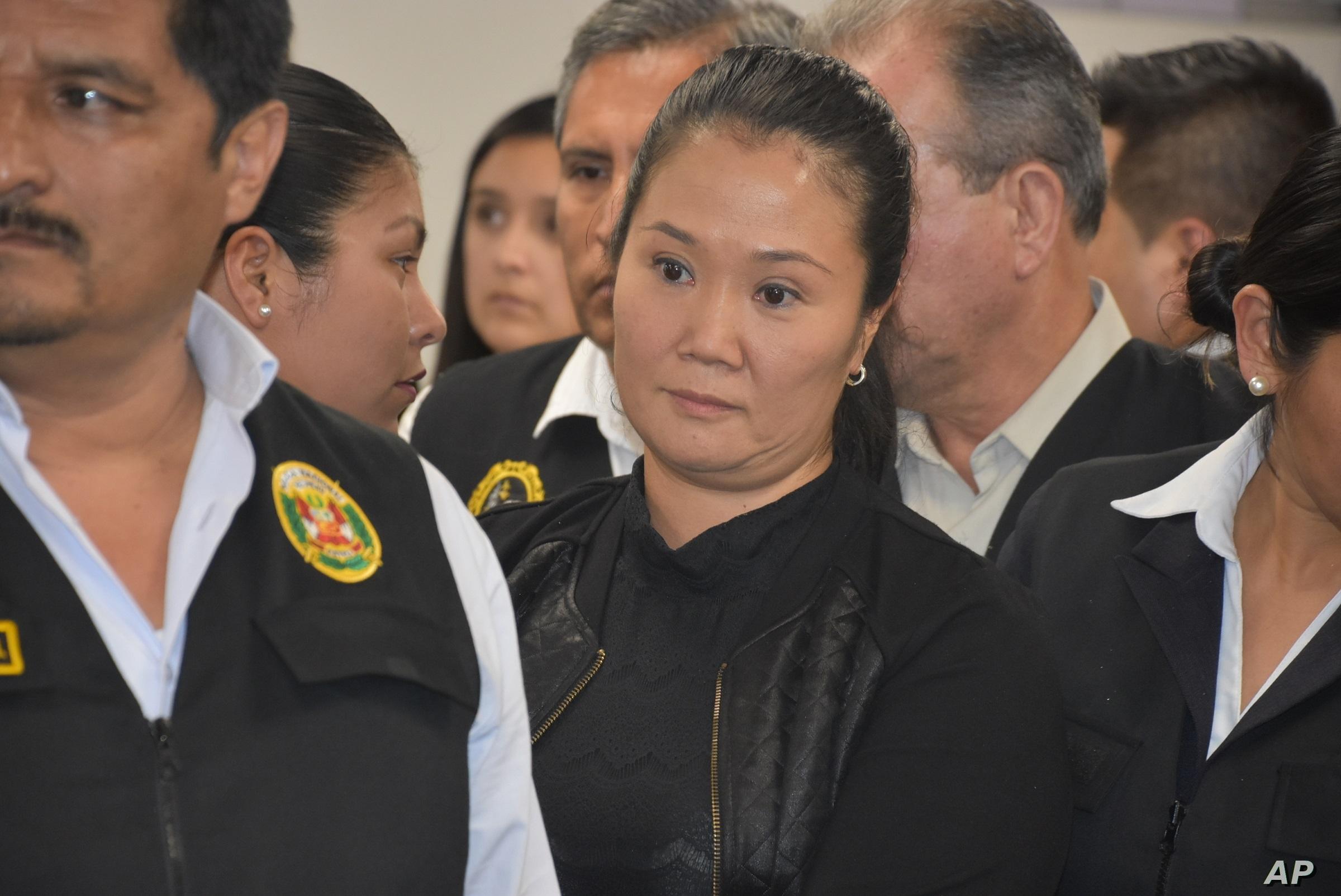 Corte Suprema debate la posibilidad de liberar a Keiko Fujimori