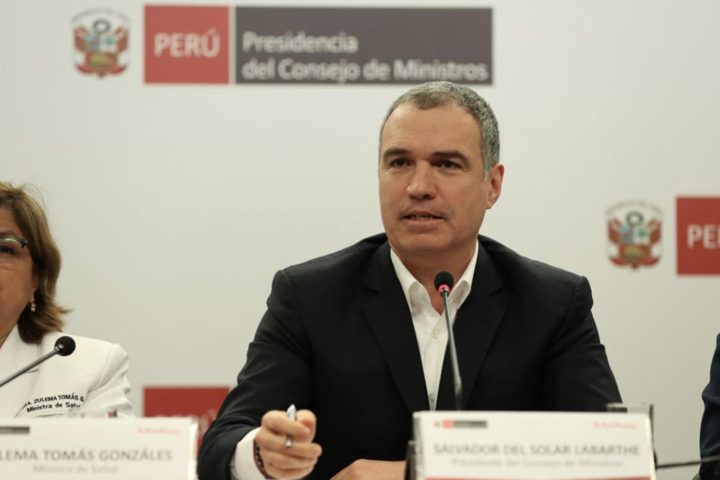 Primer Ministro Salvador del Solar presenta mejoras tecnológicas al servicio de la población