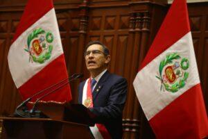 El presidente Vizcarra propone adelantar las elecciones para el 2020