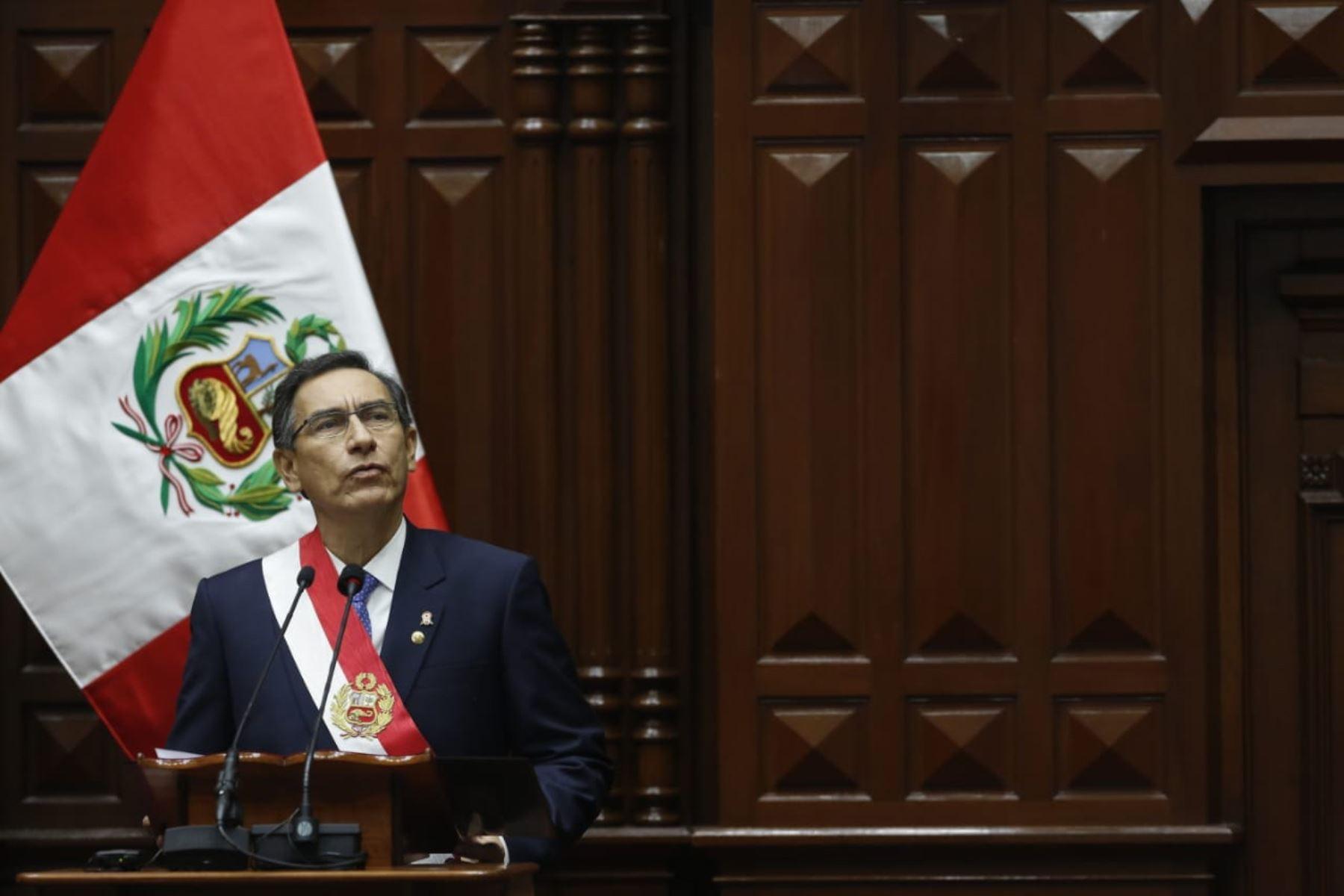 Lea el mensaje a la nación del presidente Vizcarra
