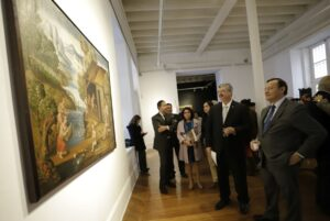 Objeto recuperados son expuestos en Lima