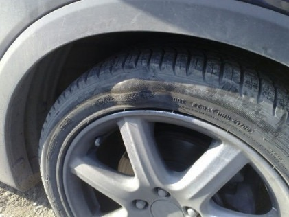 Tyre Blowouts