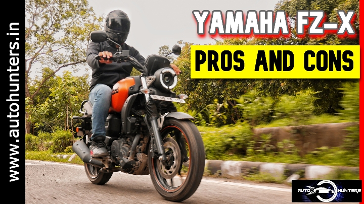 YAMAHA FZ-X Pros And Cons – A Bike Full Of Surprises