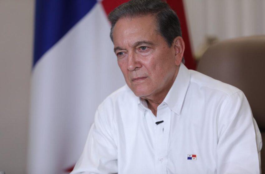 Presidente Laurentino Cortizo llama a la solidaridad frente al coronavirus