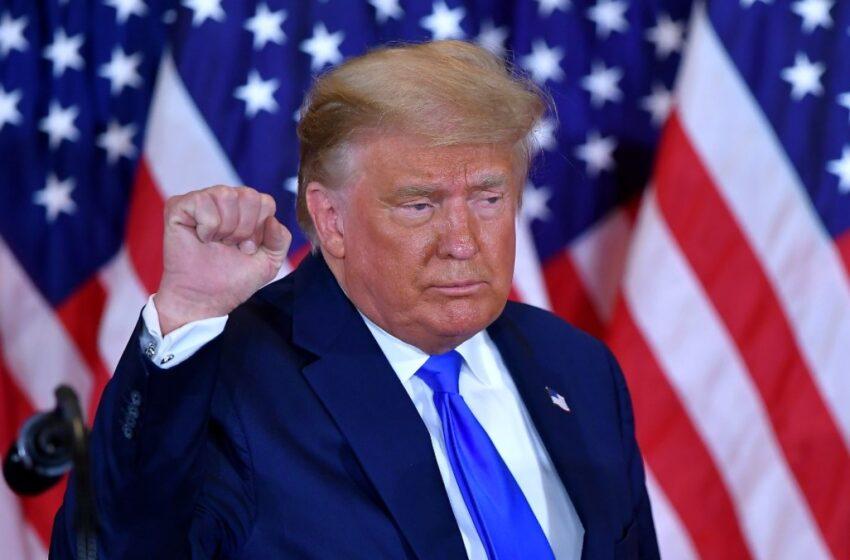 Donald Trump dice haber ganado las elecciones