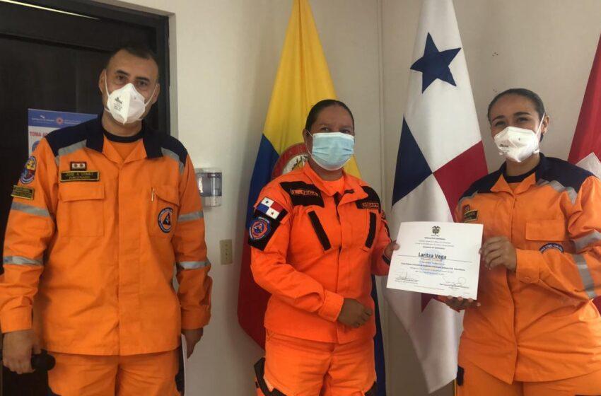Rescatistas de SINAPROC participan en curso especial sobre emergencias