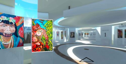 "Artista John Serna presenta su proyecto ""Museo Virtual Angular Vr Art Gallery"""