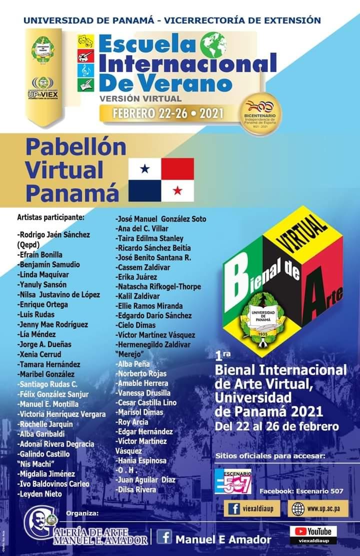 Universidad de Panamá impulsa la Primera Bienal de Arte Virtual 2021