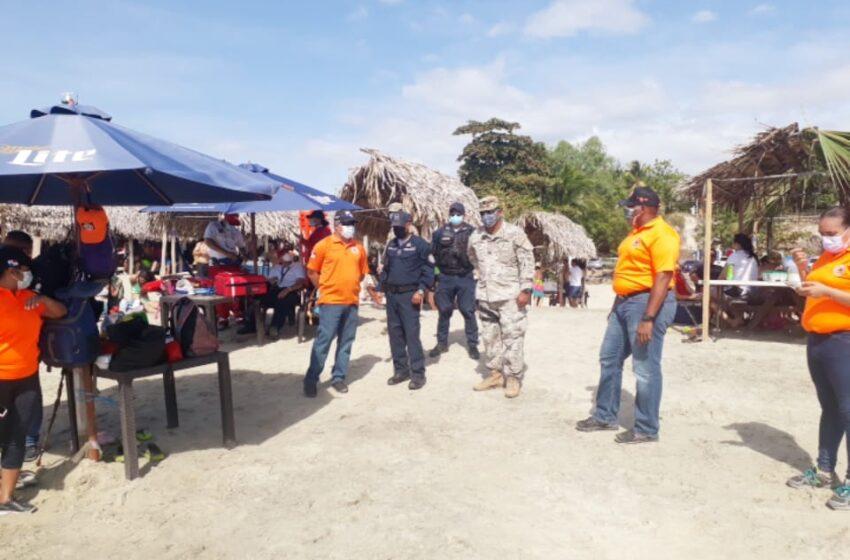 SINAPROC presente en operativo de carnaval, desplazan paramédicos