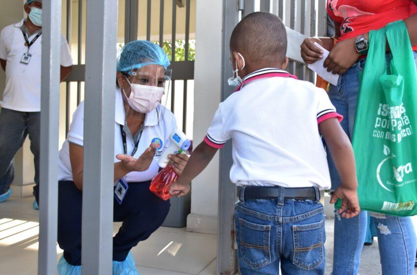 Niños y niñas reciben estimulación oportuna en los CAIPI
