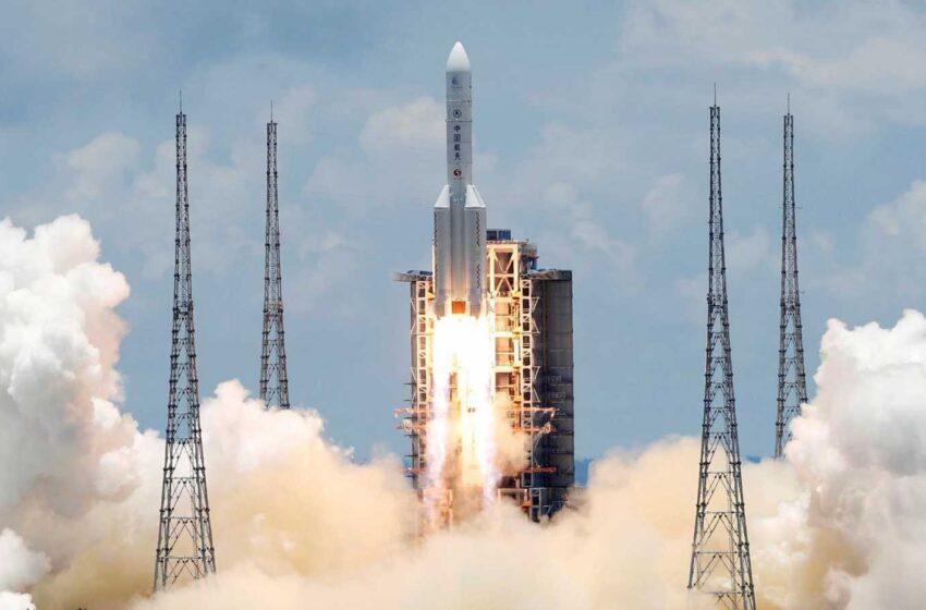 Sonda espacial china Tianwen-1  se  en órbita de Marte