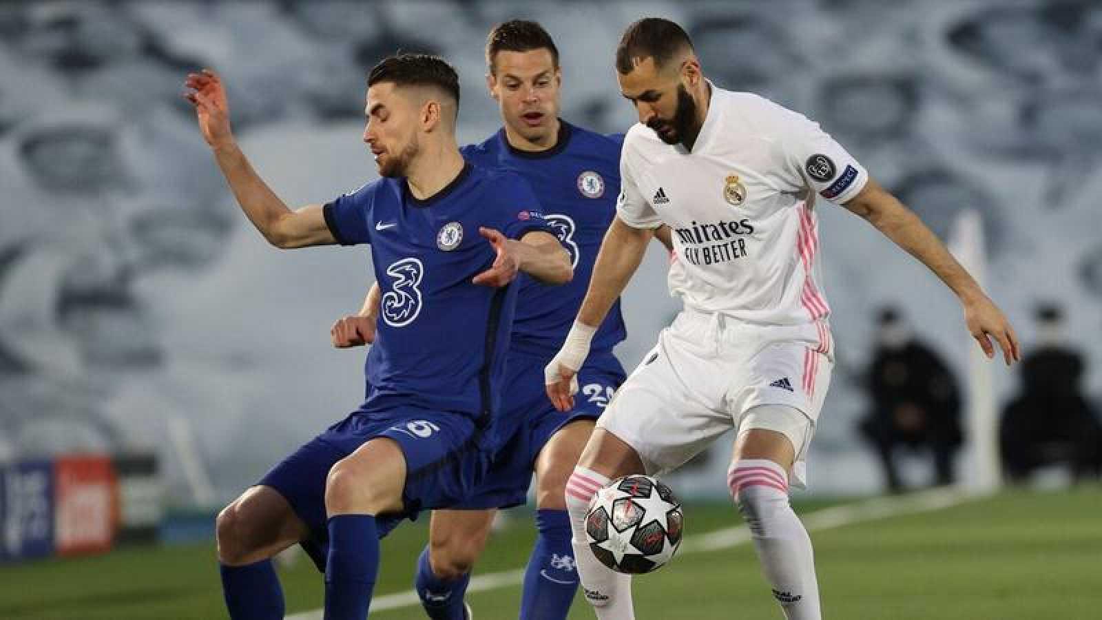 Real Madrid y Chelsea aplazan desenlace de la semifinal, ventaja para los ingleses