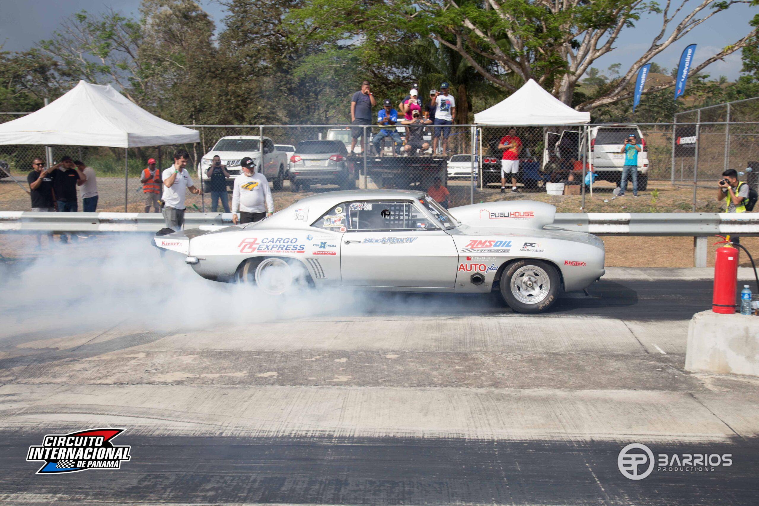 Motores rugirán en el Drag War del Circuito Internacional de Panamá