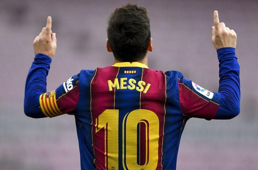 El engañoso marketing de Messi
