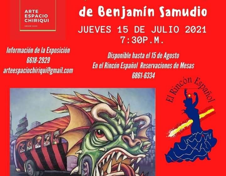 Una nueva exposición artística de Bejamín Samudio