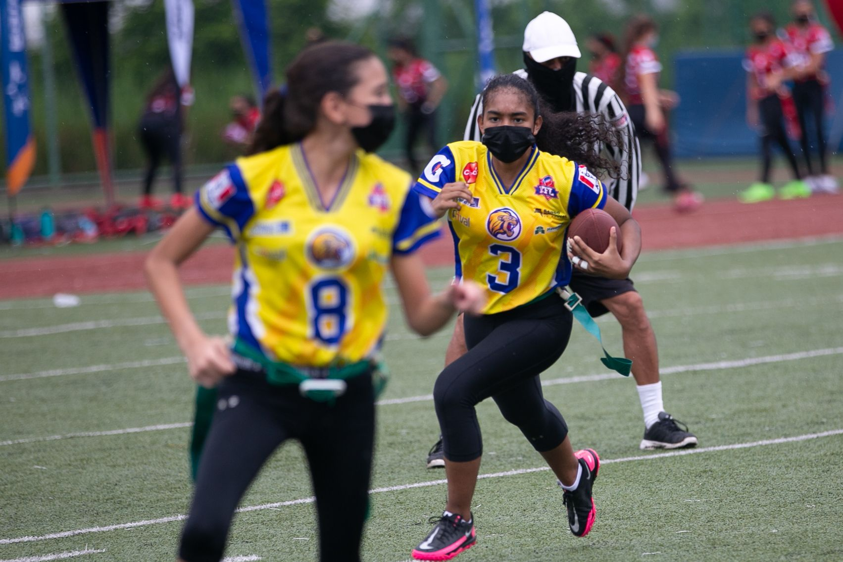 Flag Football Kiwanis entra en recta final
