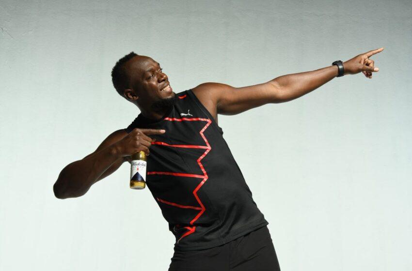 El multicampeón Usain Bolt se une a Michelob Ultra como embajador