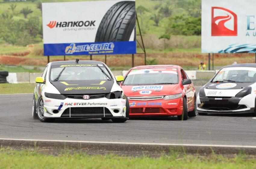 Vibrantes carreras en reactivación del Circuito Internacional de Panamá