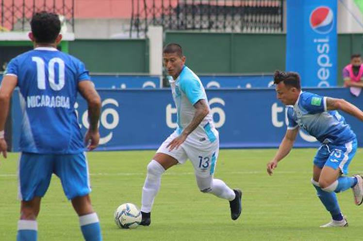 Amistoso de fútbol entre Guatemala y Nicaragua concluye con empate