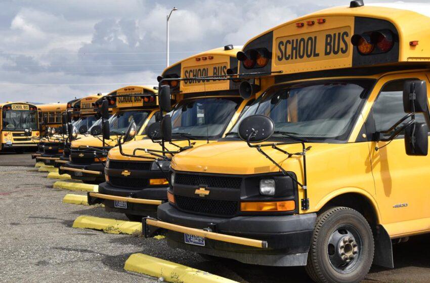 Conductores de autobús afecta a las escuelas de EE. UU.