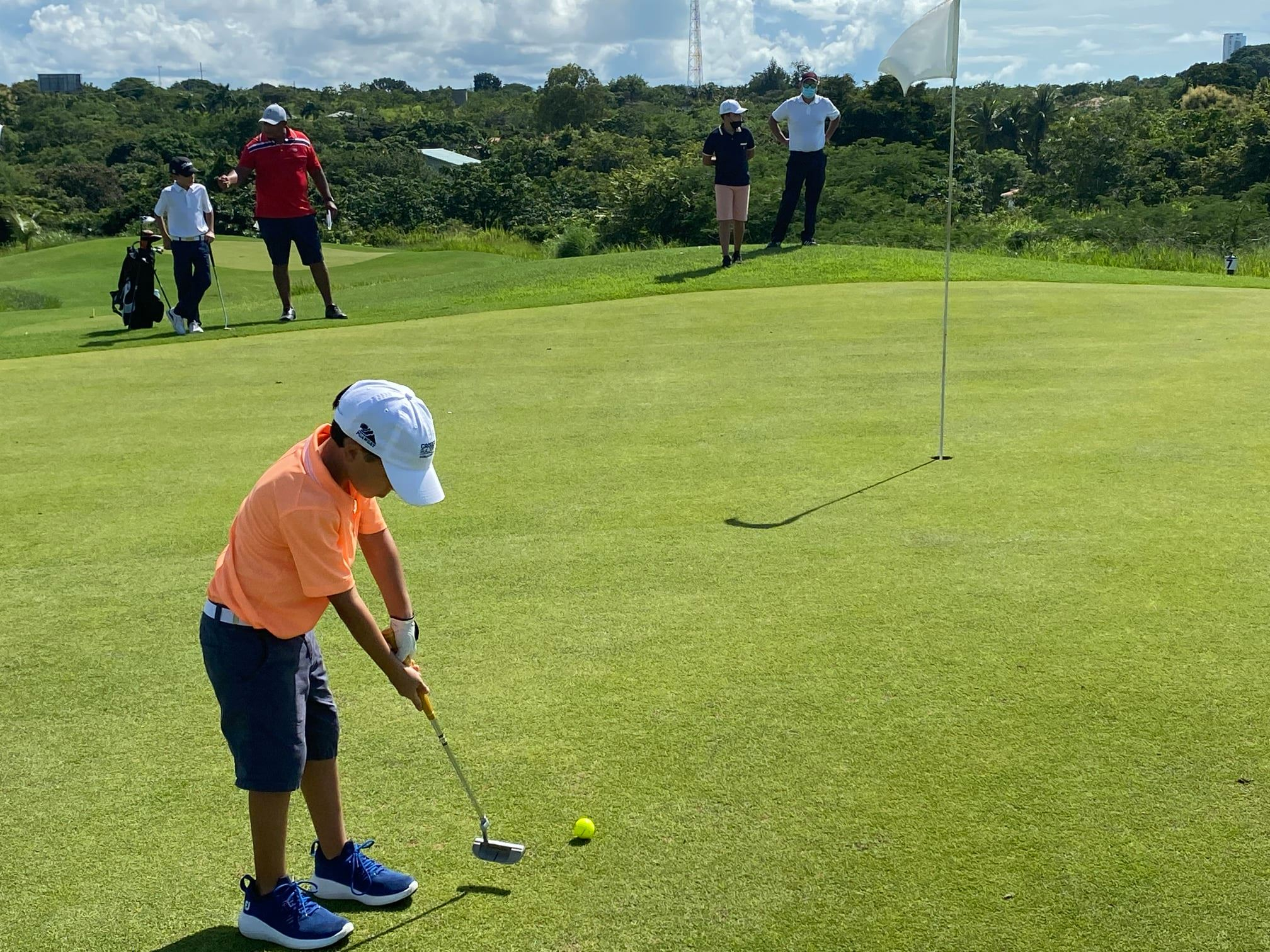 Semillero de Golf Kiwanis entra en recta final