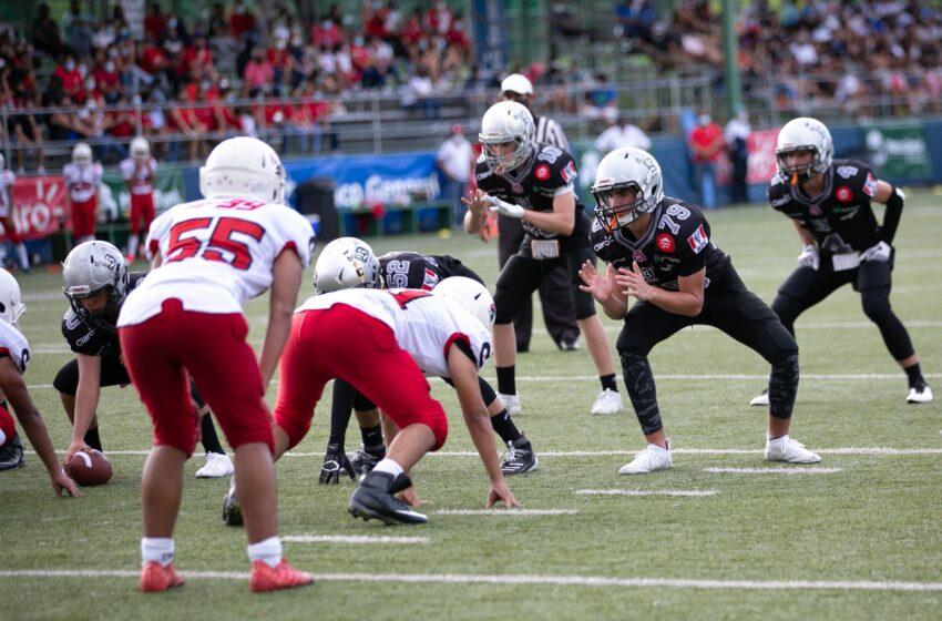 Escuadrón Raiders pisa fuerte en Football Americano Juvenil KFL