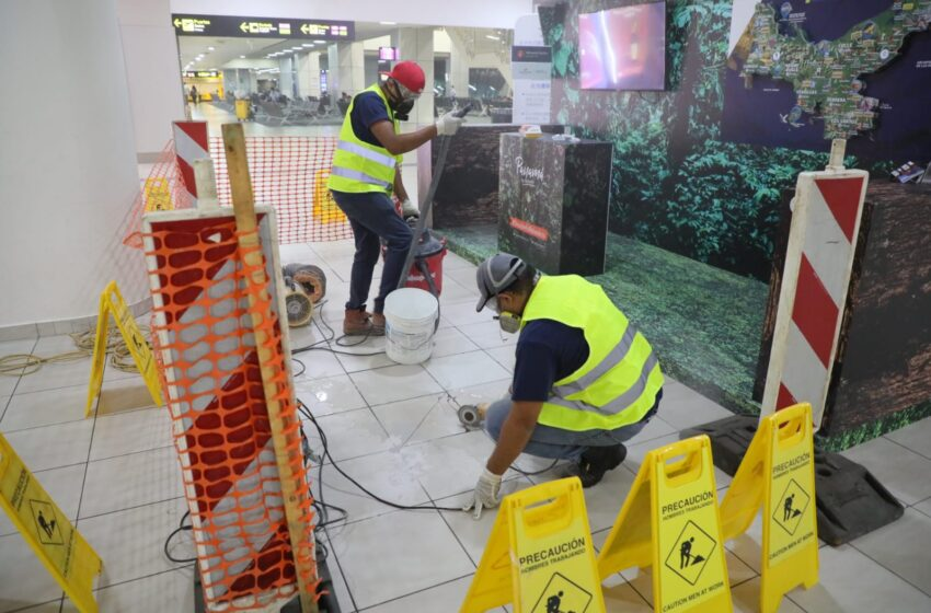Aeropuerto Internacional de Tocumen ejecuta obras de mejoras