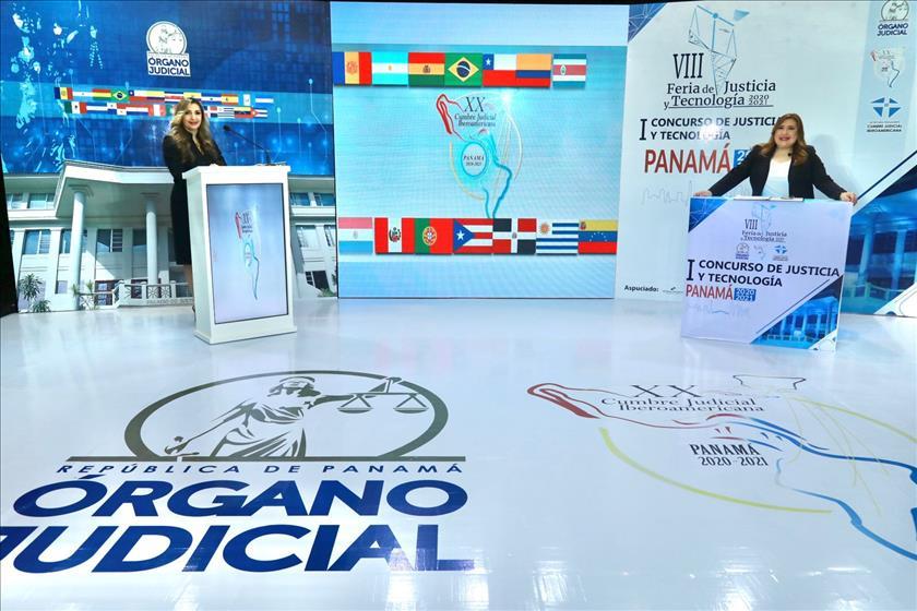 Órgano Judicial de Panamá presente en la VIII Feria de Justicia y Tecnología