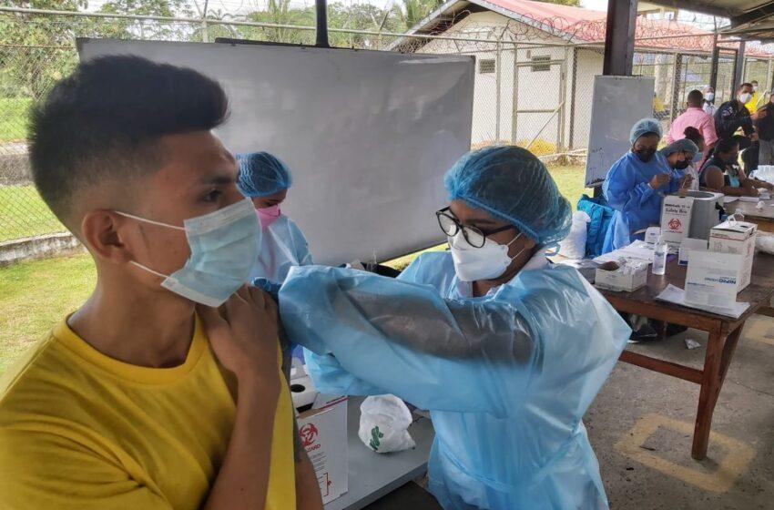 DGSP exhorta vacunación para población privada de libertad