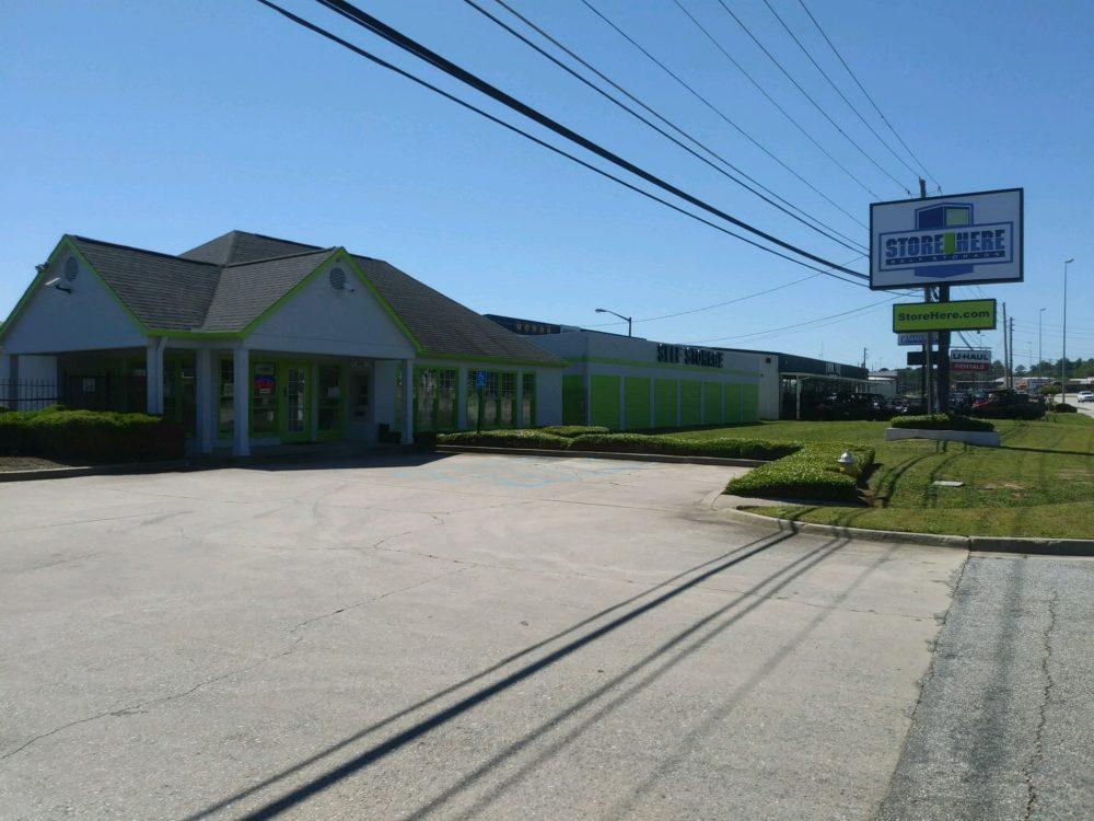 Store Here Self Storage Macon GA Facility Exterior