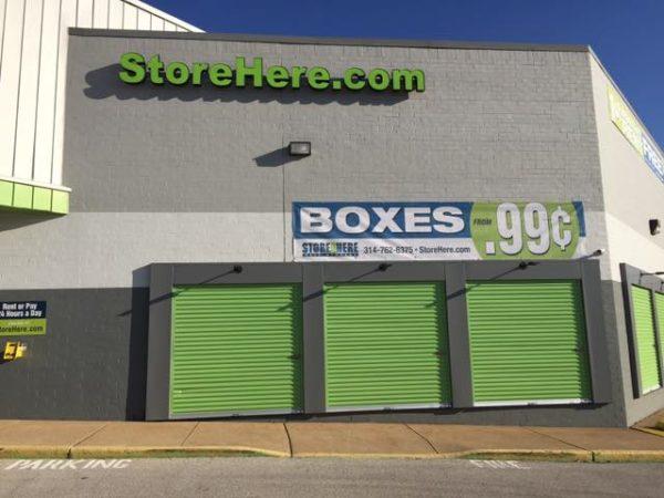 Store Here Self Storage Jennings MO Drive-Up Storage Units