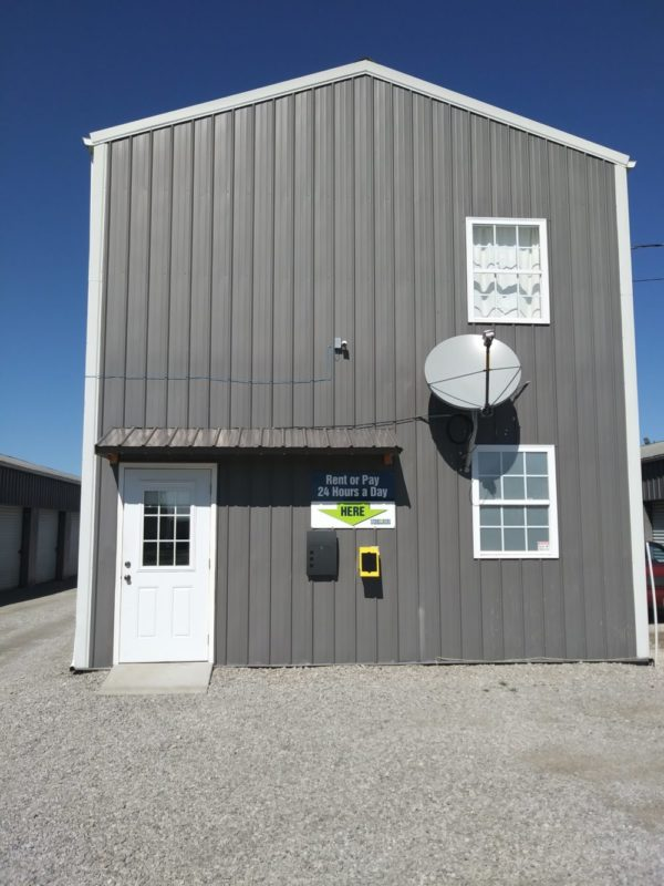 Eminence Self Storage Facility Exterior