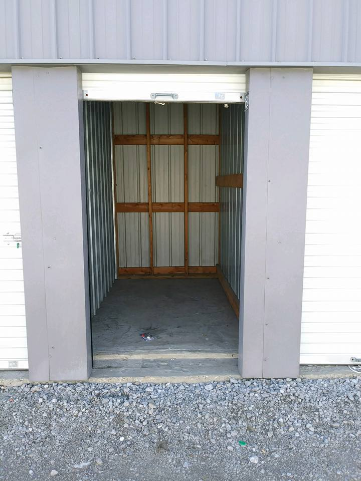 Eminence Self Storage Unit Interior