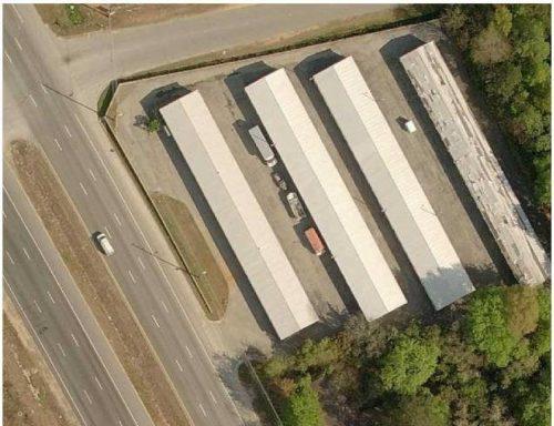Macon Storage Center Aerial View