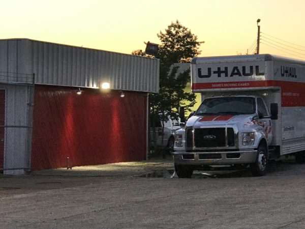 Highway 45 Bypass Storage U-Haul Moving Truck