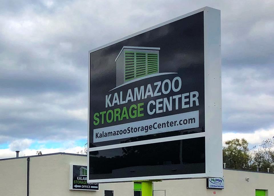 Kalamazoo Storage Center Sign