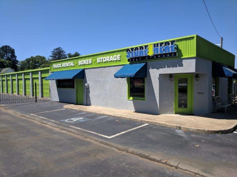 Store Here Self Storage Jackson, GA Facility Exterior