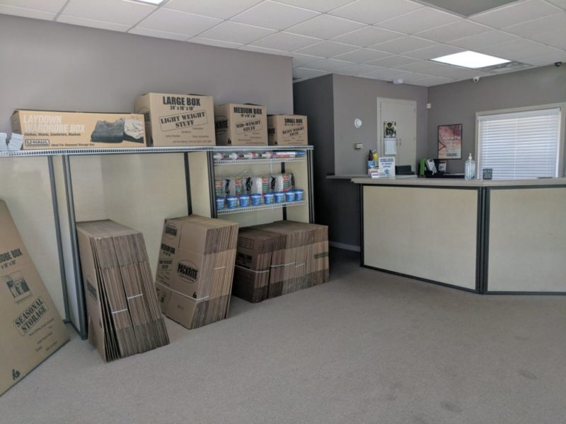 Store Here Self Storage Jackson, GA Office