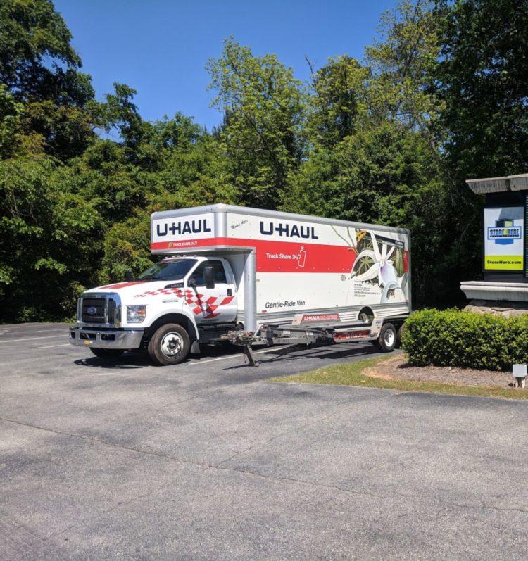 Store Here Self Storage Jackson, GA U-HAUL Truck Rental